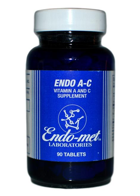 WSO معامل إندوميت- فيتامين أ-ج (90 قرص) على موقع