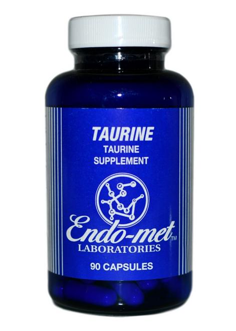 (معامل إندوميت-تركيبة التورين (90 كبسولة