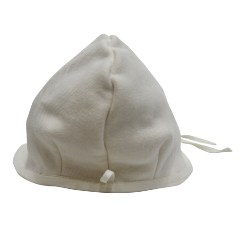 Organic Sauna Hat made with Organic Bamboo Cotton Fleece