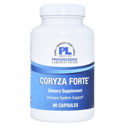 Progressive Laboratories Coryza Forte 90 Caps at WellnessShoppingOnline