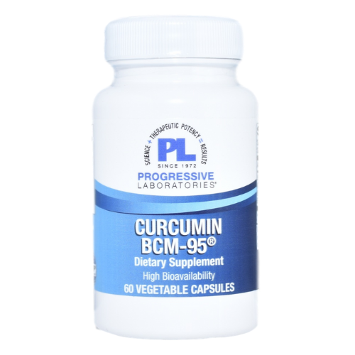 Progressive Laboratories Curcumin BCM-95 60 Vegetable Capsules at WSO