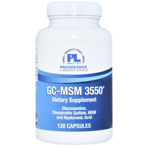 Progressive Laboratories GC/MSM 3550 (120 Capsules) at WellnessShoppingOnline