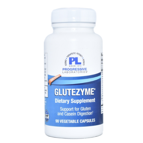 Progressive Laboratories Glutezyme (90 Vegetable Caps) at WellnessShoppingOnline