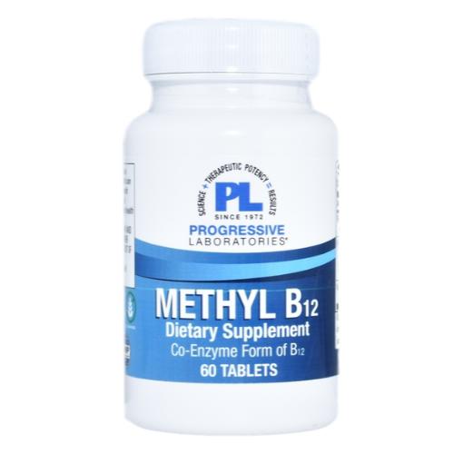 Progressive Laboratories Methyl B12 (60 Tablets) at WellnessShoppingOnline