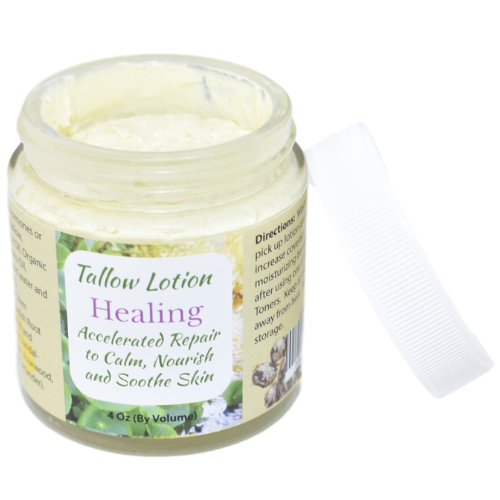 Tallow Lotion Healing 4 oz at Wellness Shopping Online