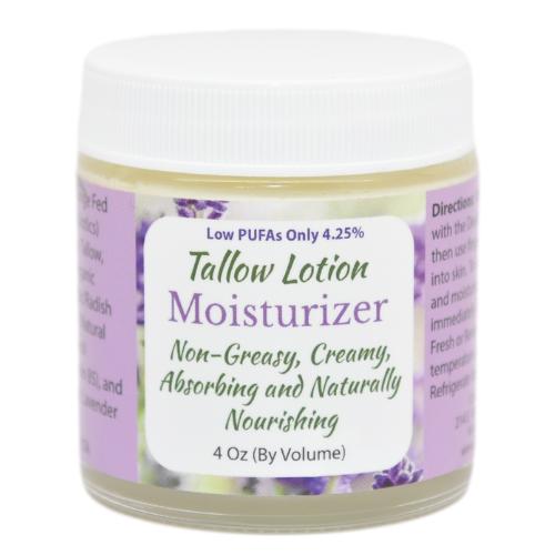 Tallow Lotion Moisturizer 4 oz at Wellness Shopping Online