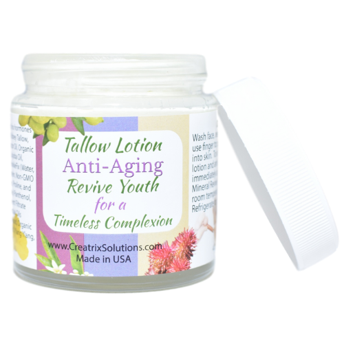 Tallow Lotion Anti-Aging 4 oz at Wellness Shopping Online