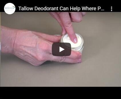 Tallow Deodorant Video