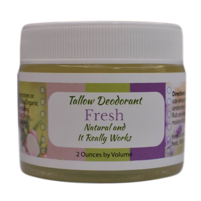 Fresh Tallow Deodorant