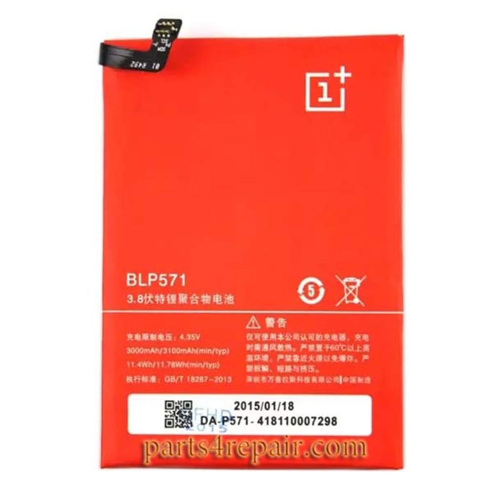 BLP571 Built-in Battery 3100mAh for Oneplus One