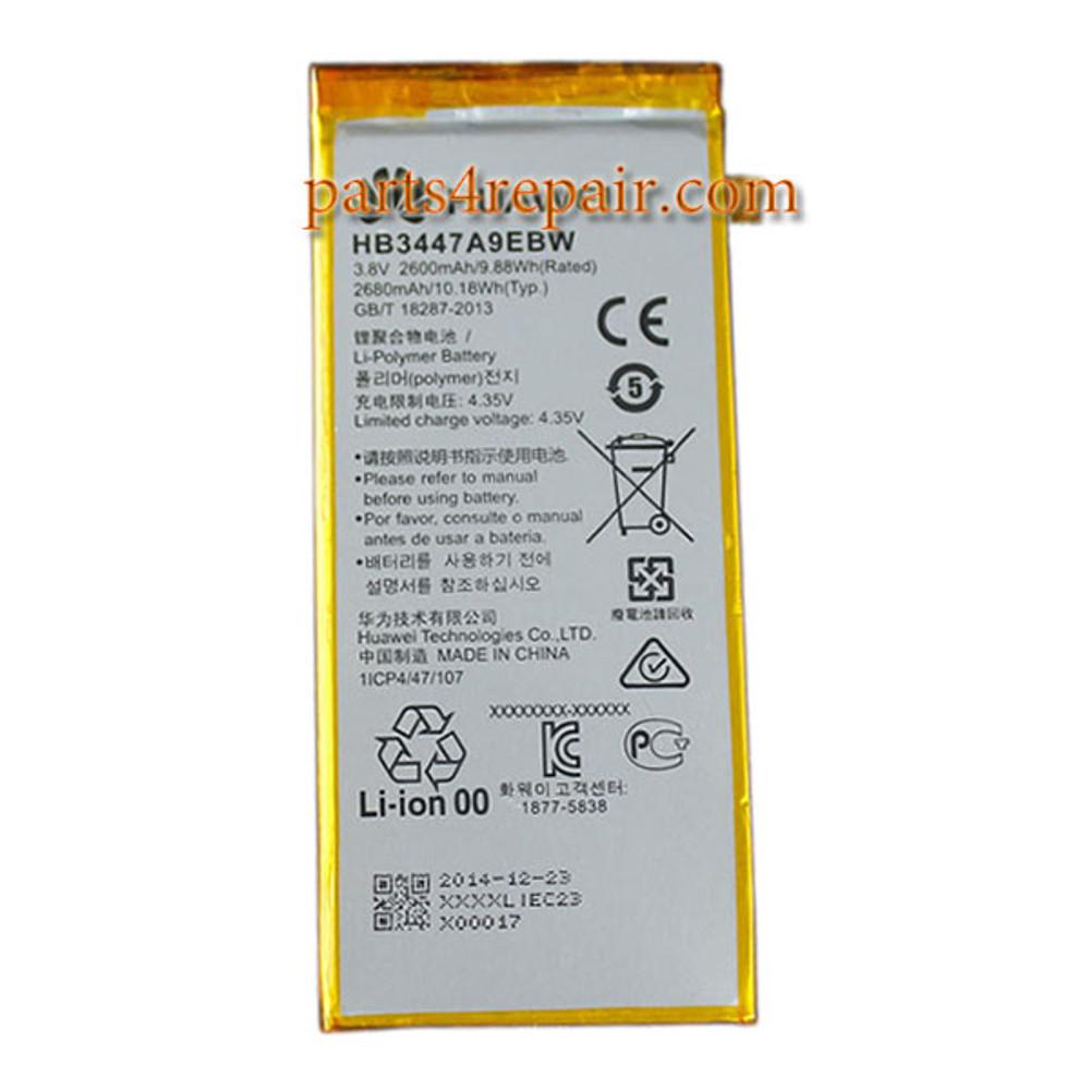 2680mAh Battery HB3447A9EBW for Huawei P8