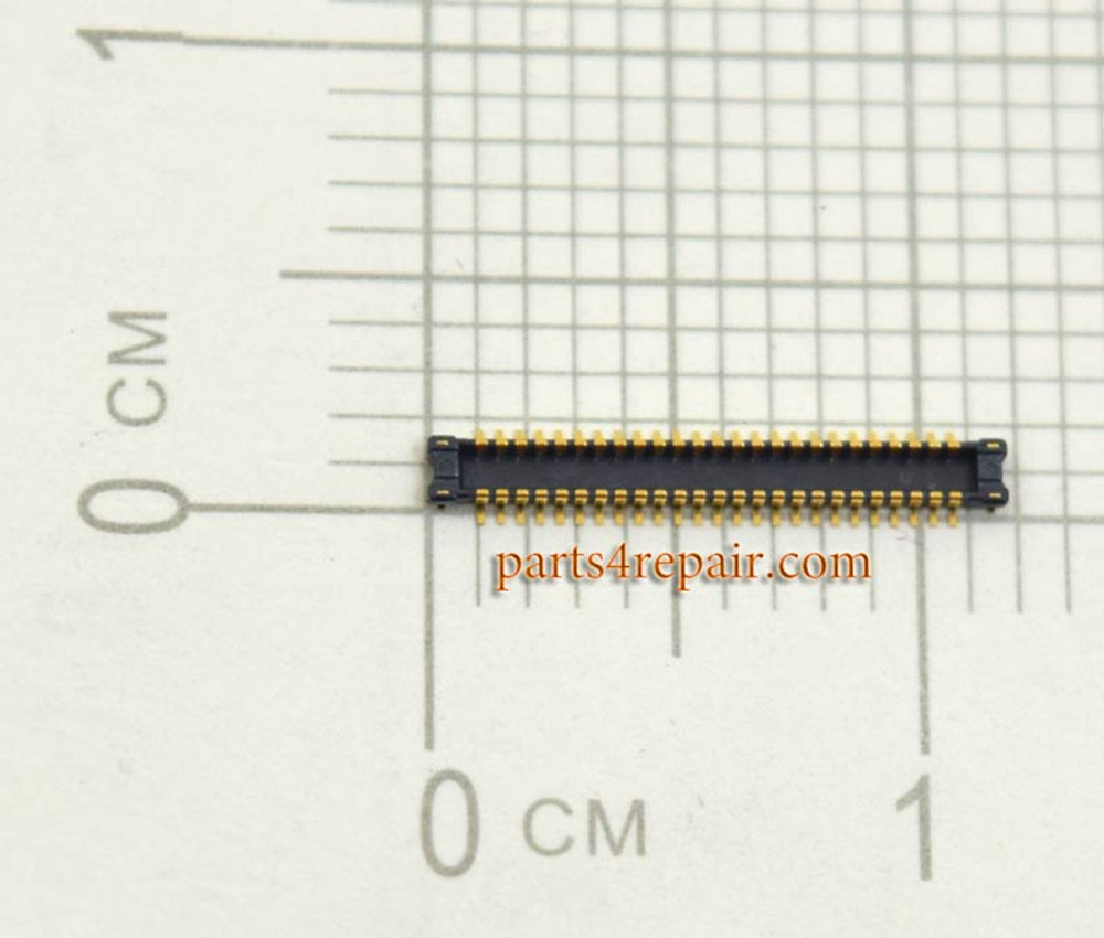 50pin LCD FPC Connector for Sony Xperia Z L36H from www.parts4repair.com