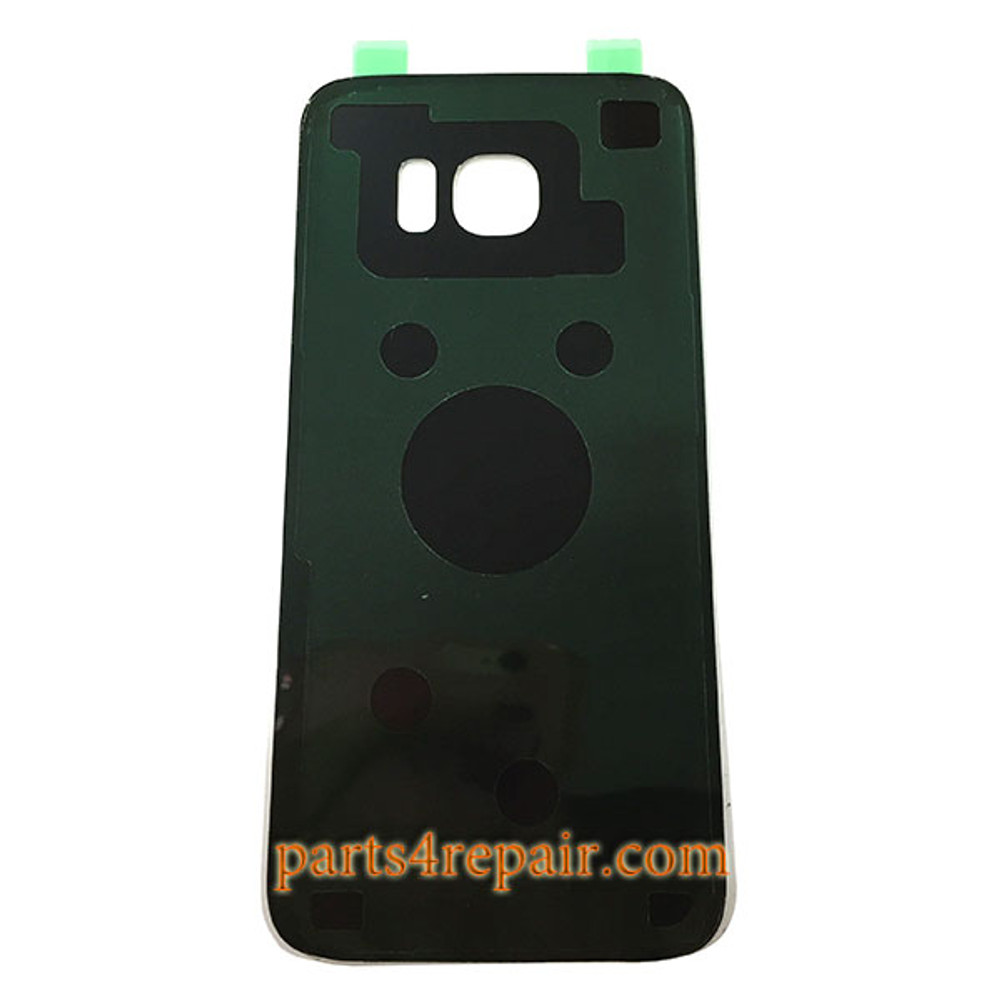 Battery Glass Cover with Adhesive for Samsung Galaxy S7 Edge