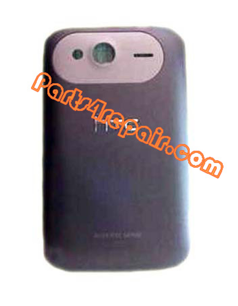Back Cover for HTC Wildfire S -Purple
