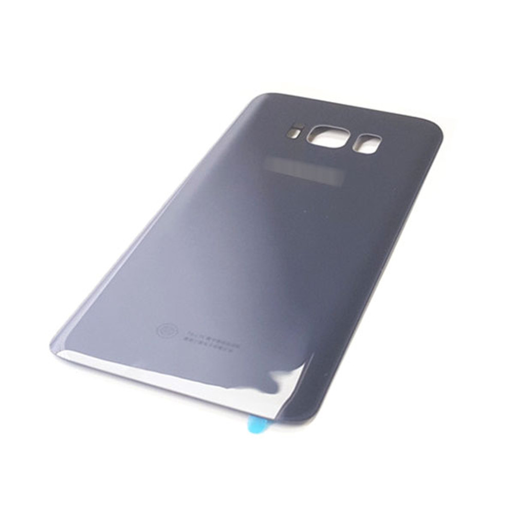 Back Glass Cover with Adhesive for Samsung Galaxy S8 All Versions -Black