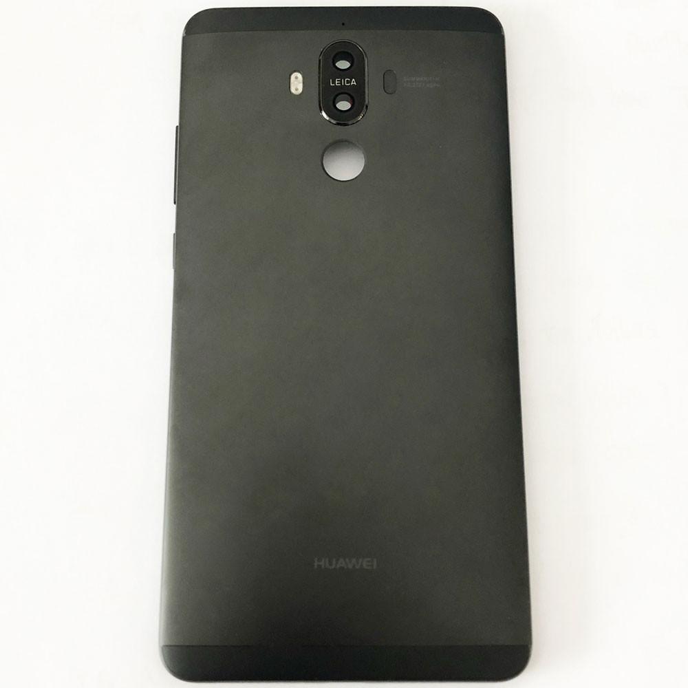 Back Housing + Side Keys + Camera Lens for Huawei Mate 9 Black