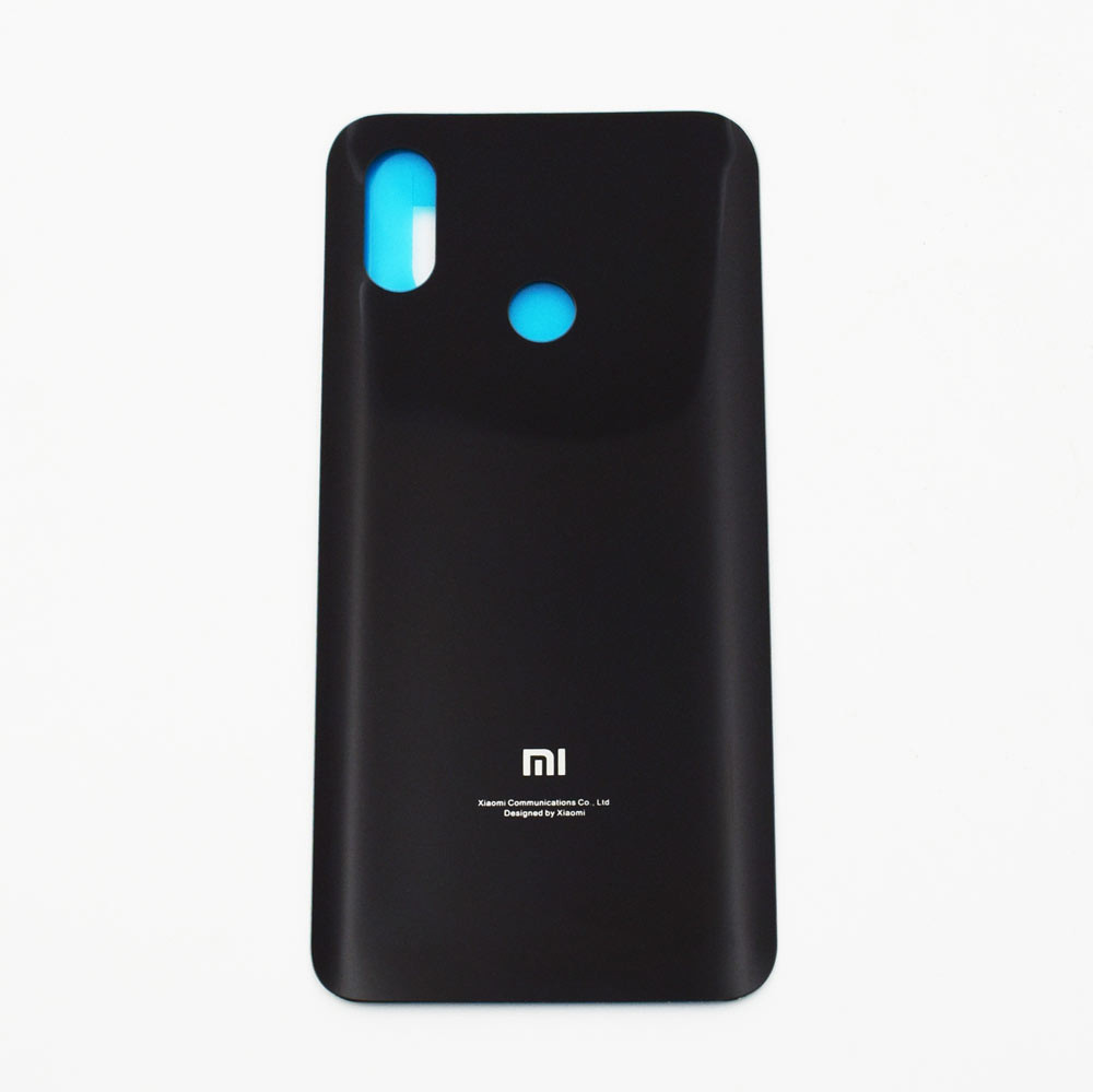 Back Glass Cover with Adhesive for Xiaomi Mi 8 -Black