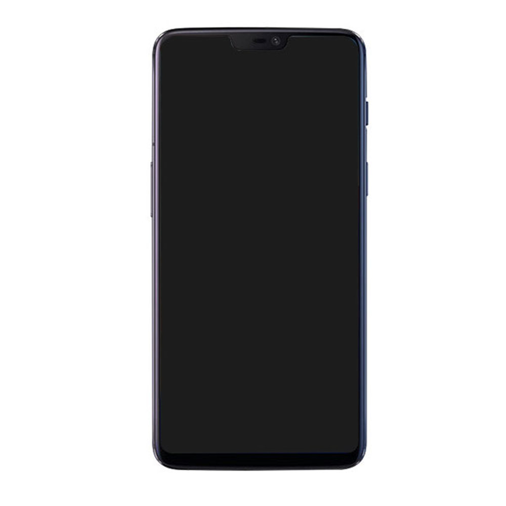 Oneplus 6 LCD Screen and Digitizer Assembly with Frame from www.parts4repair.com