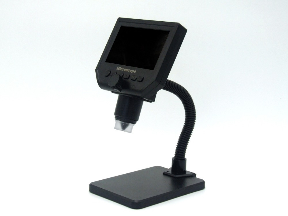 """G600 Digital Portable Microscope with 4.3"""" Display for Repairing PCB Board"""
