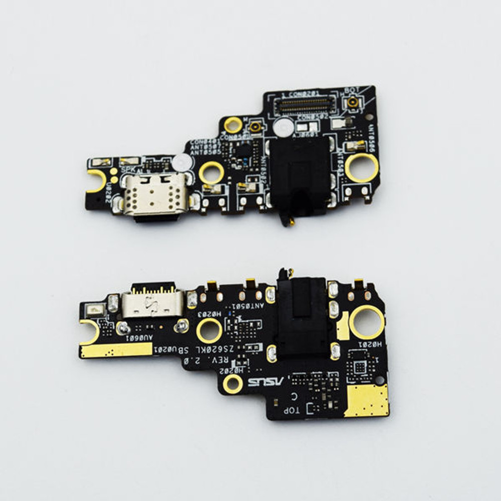 Asus Zenfone 5z ZS620KL Dock Charging PCB Board from www.parts4repair.com