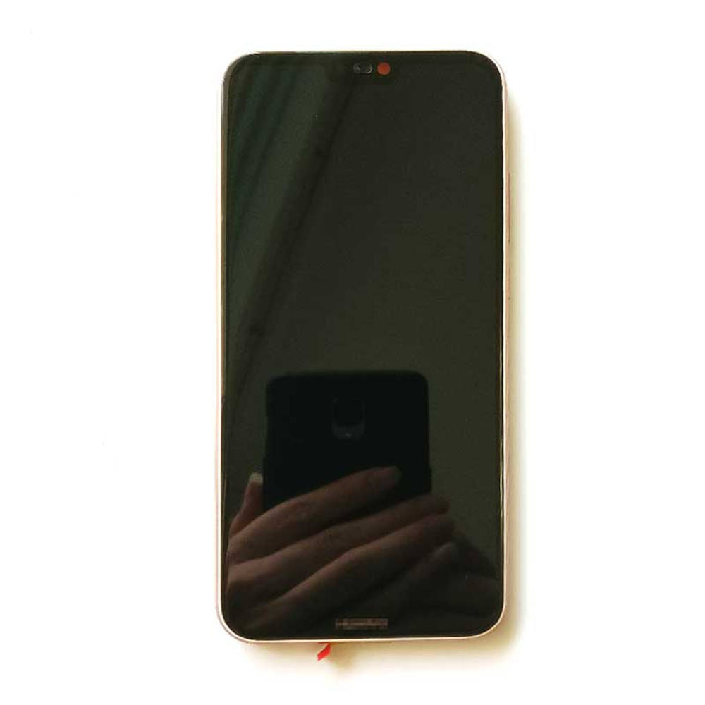 Huawei P20 Lite Screen Assembly with Frame Pink | Parts4Repair.com