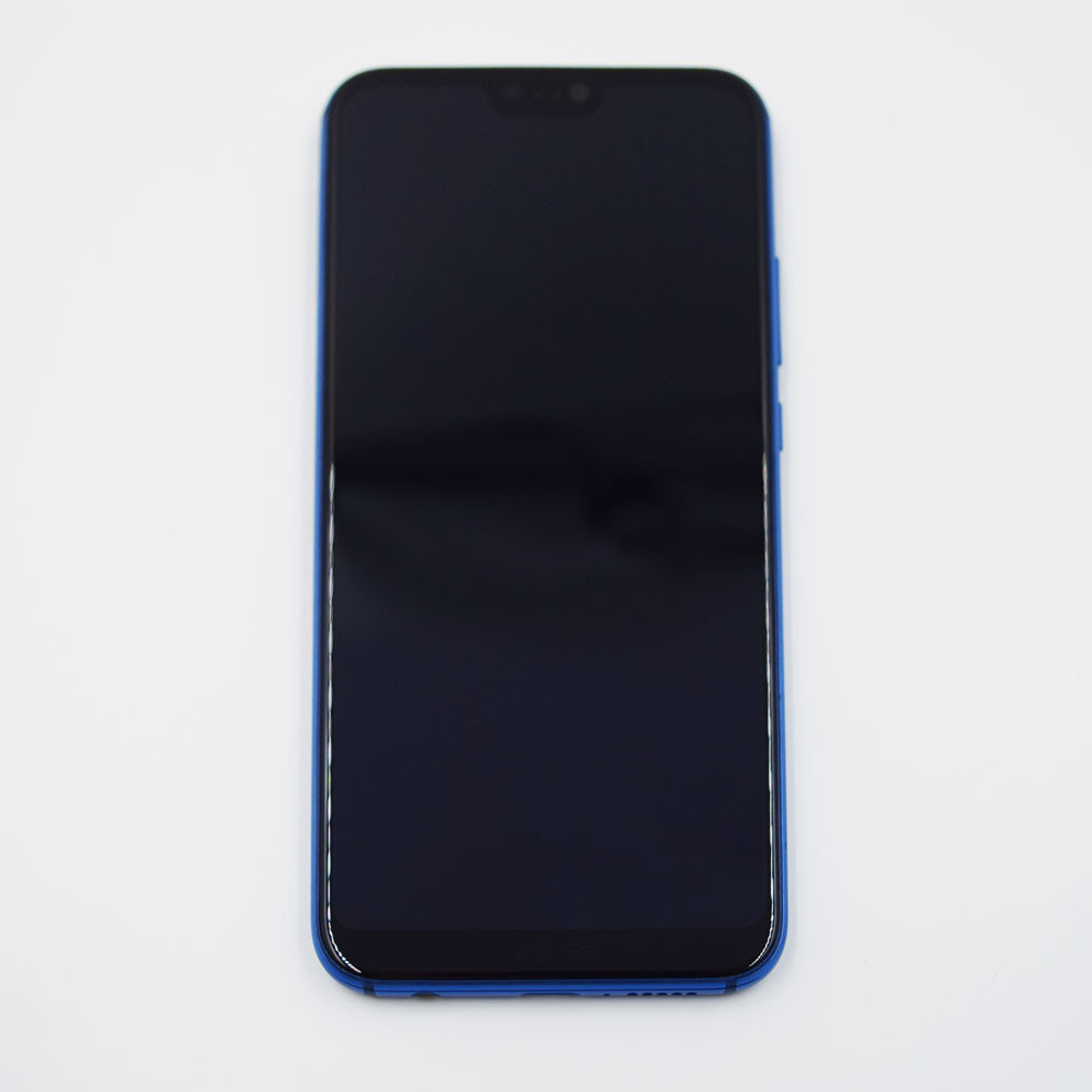 Huawei P20 Lite Screen Assembly with Frame Blue   Parts4Repair.com