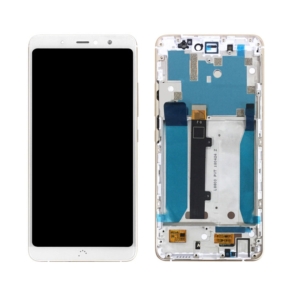 BQ Aquaris X2 LCD Screen and Digitizer Assembly White from www.parts4repair.com