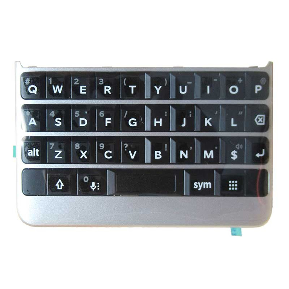 BlackBerry Key2 Keyboard Replacement Silver | Parts4Repair.om
