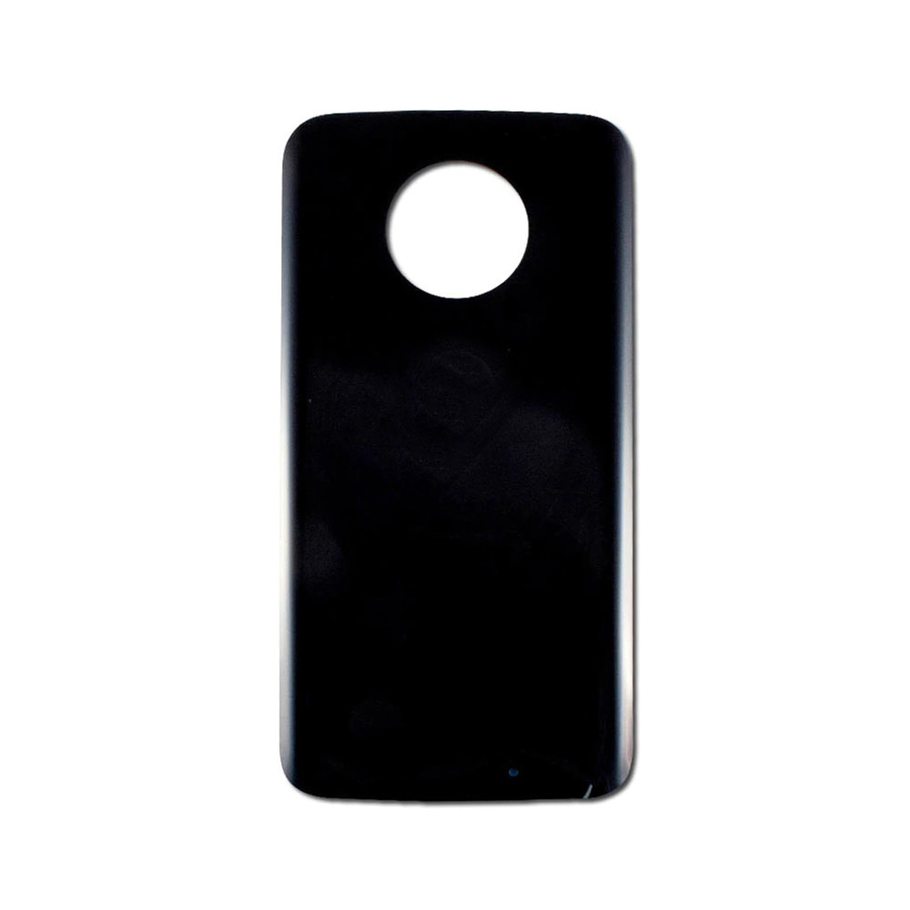 Back Cover wih Adhesiver for Motorola Moto X4 Black | Parts4Repair.com