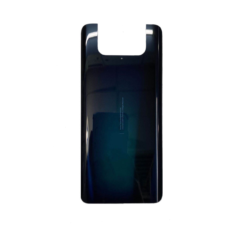 Back Glass Cover for Asus Zenfone 7 ZS670KS Black | Parts4Repair.com