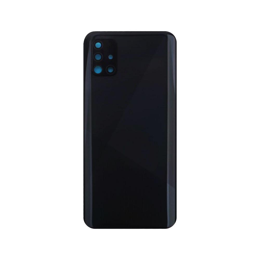 Back Cover with Camera Lens for Samsung Galaxy A51 Black | Parts4Repair.com