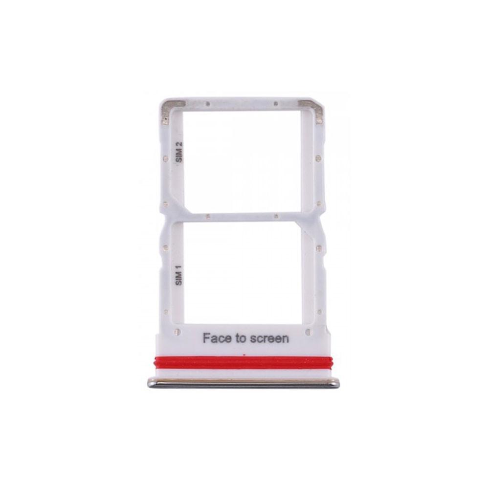 Xiaomi Mi Note 10 Lite SIM Tray White   Parts4Repair.com