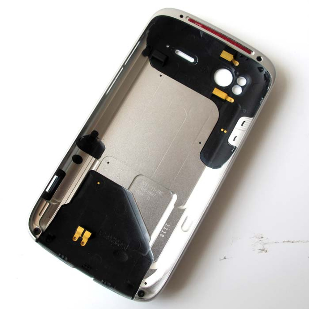 HTC Sensation XE Back Cover White from www.parts4repair.com