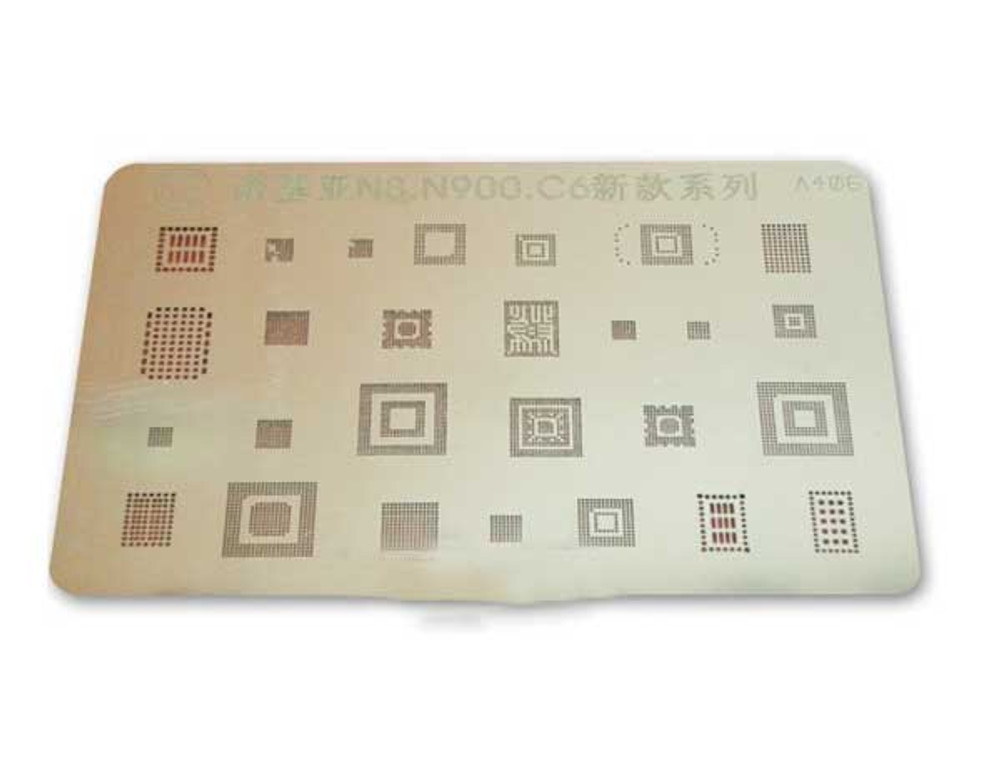 Balling Stencil for Nokia N8 /C6/ N900 from www.parts4repair.com