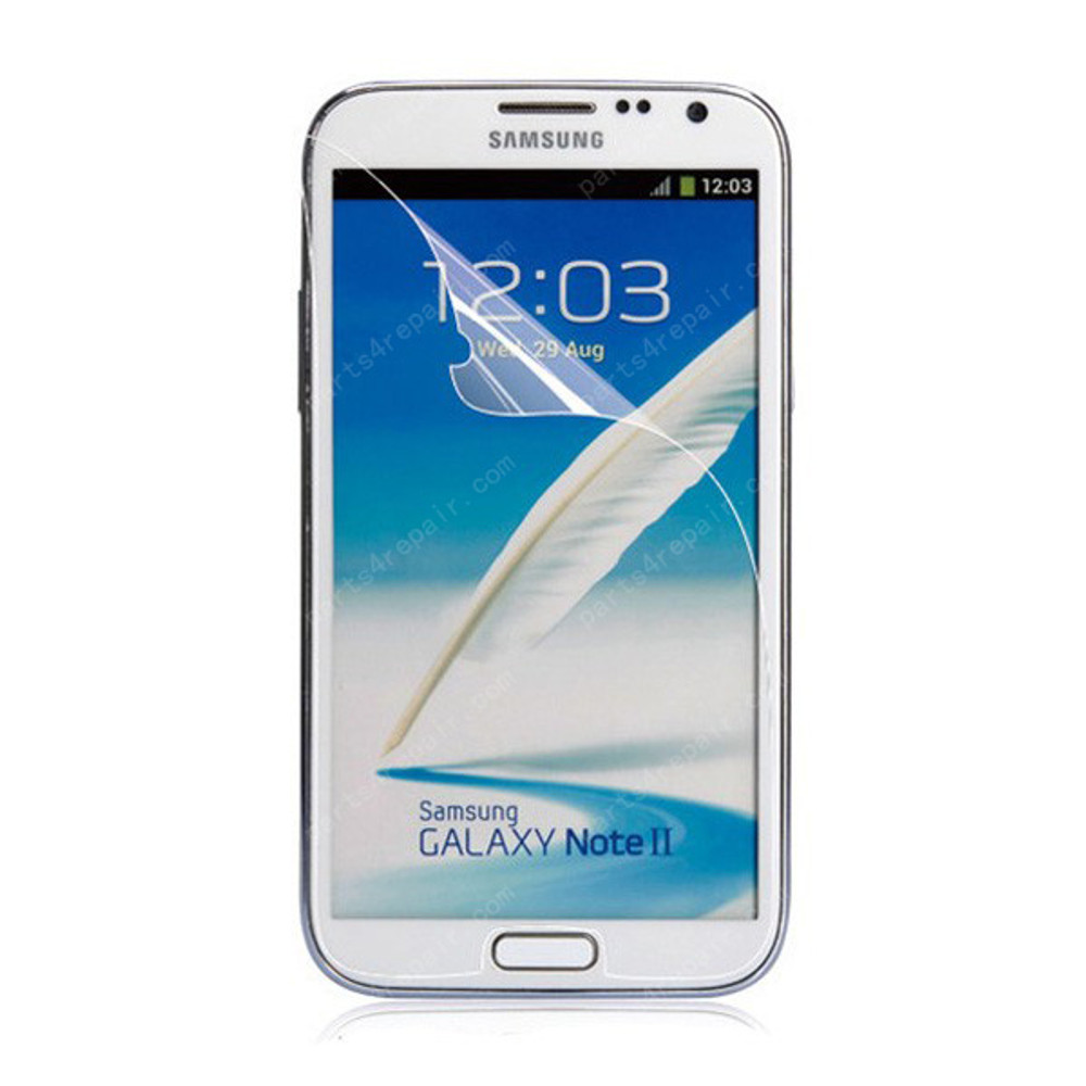 3X Clear Screen Protector Shield Film for Samsung Galaxy Note II N7100