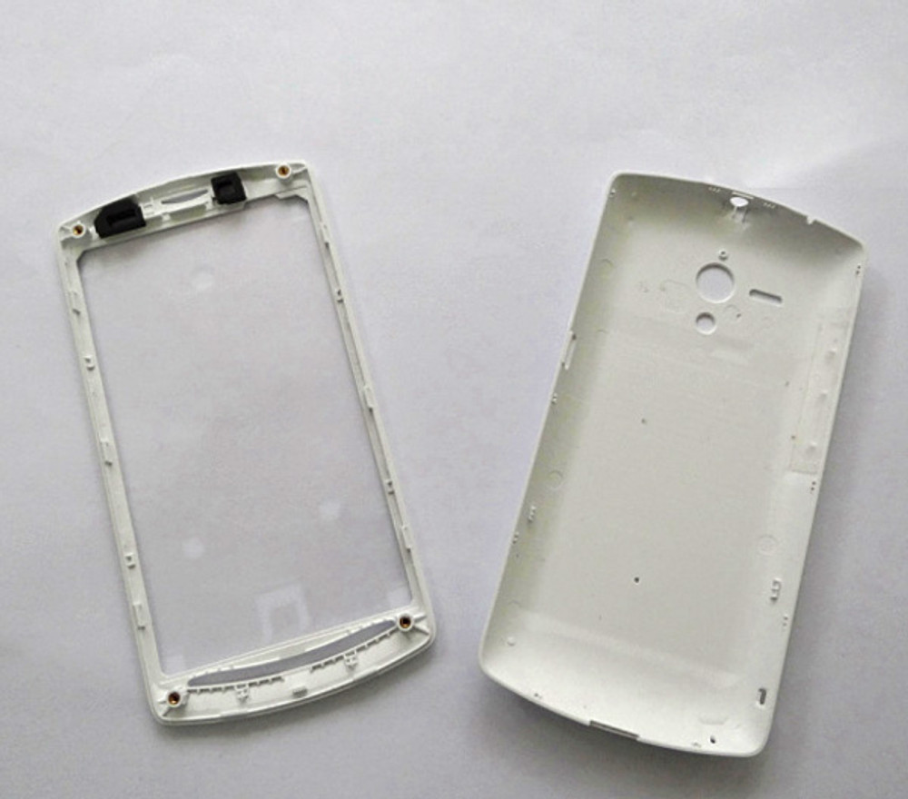 Back Cover & Front Cover & Side Keys for Sony Xperia Neo L MT25I -White