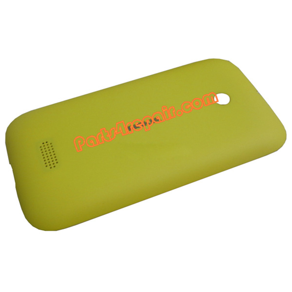 Back Cover for Nokia Lumia 510 -Yellow from www.parts4repair.com