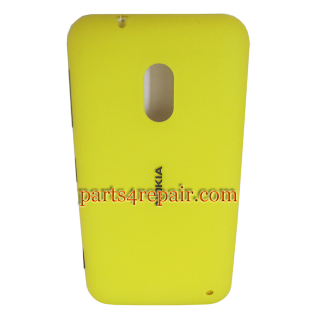 Back Cover for Nokia Lumia 620 -Yellow from www.parts4repair.com