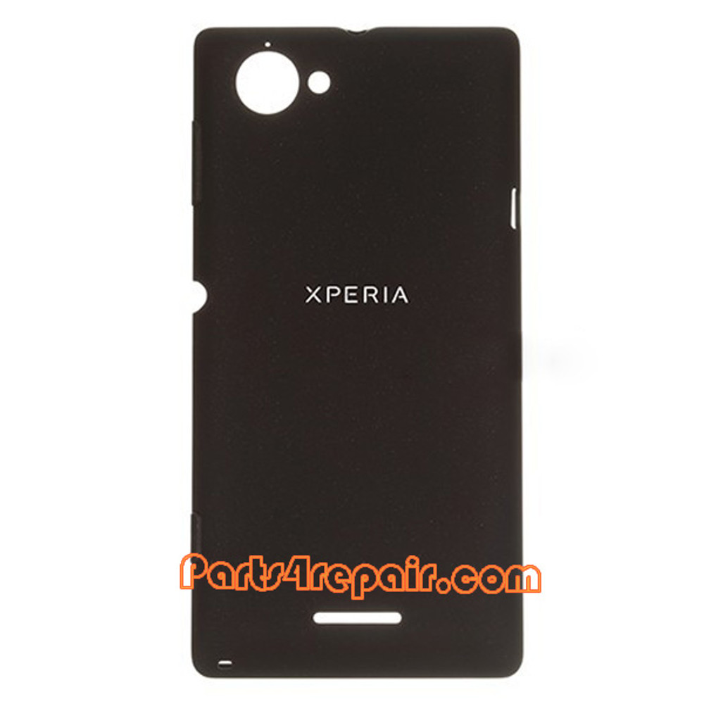 Back Cover for Sony Xperia L S36H -Black from www.parts4repair.com