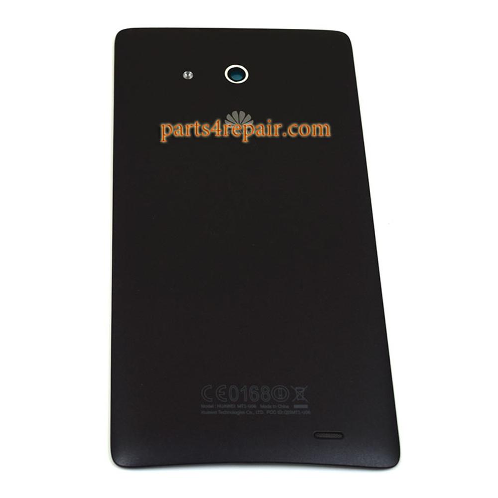 Back Cover for Huawei Ascend Mate MT1-U06 -Black