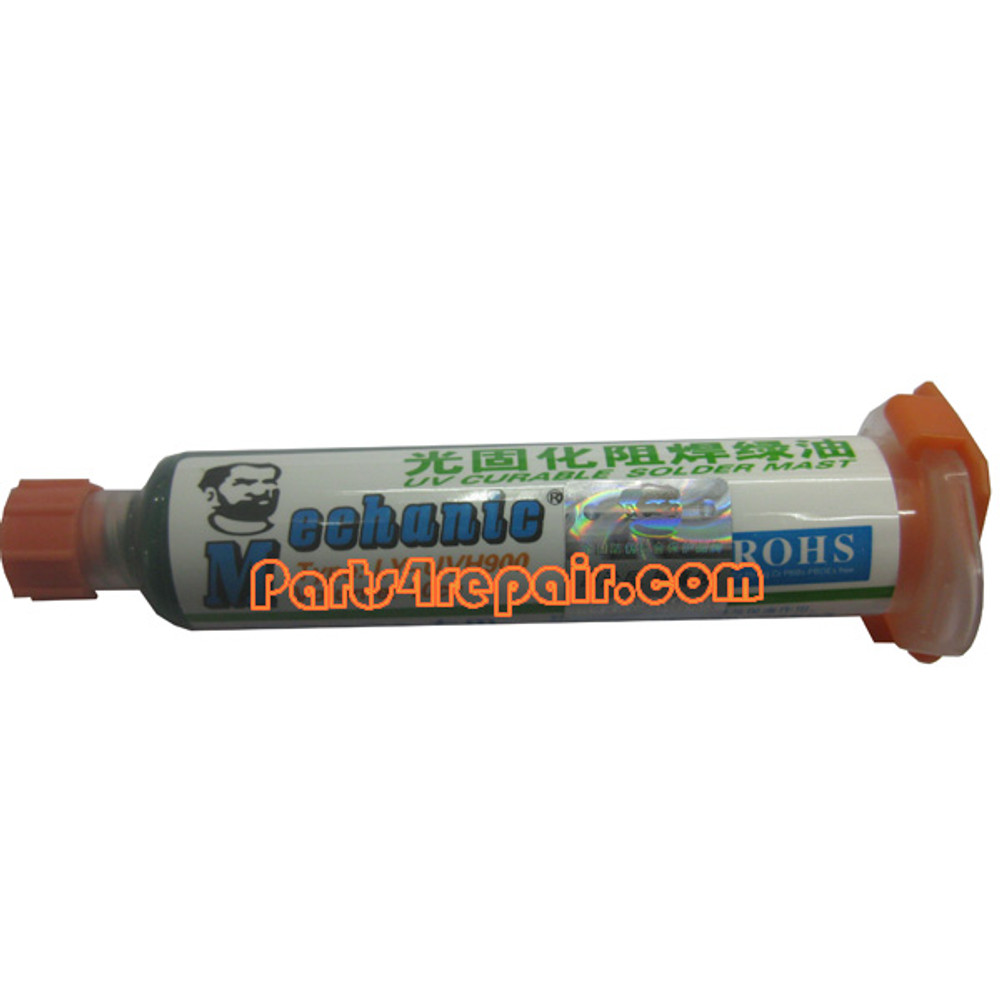 UV Curable solder mask from www.parts4repair.com