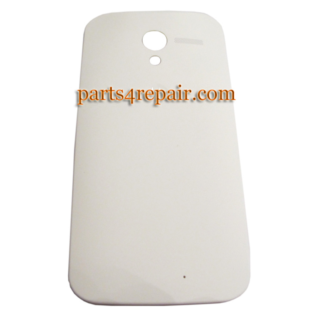 Back Cover for Motorola Moto X XT1058 -White (Plastic)