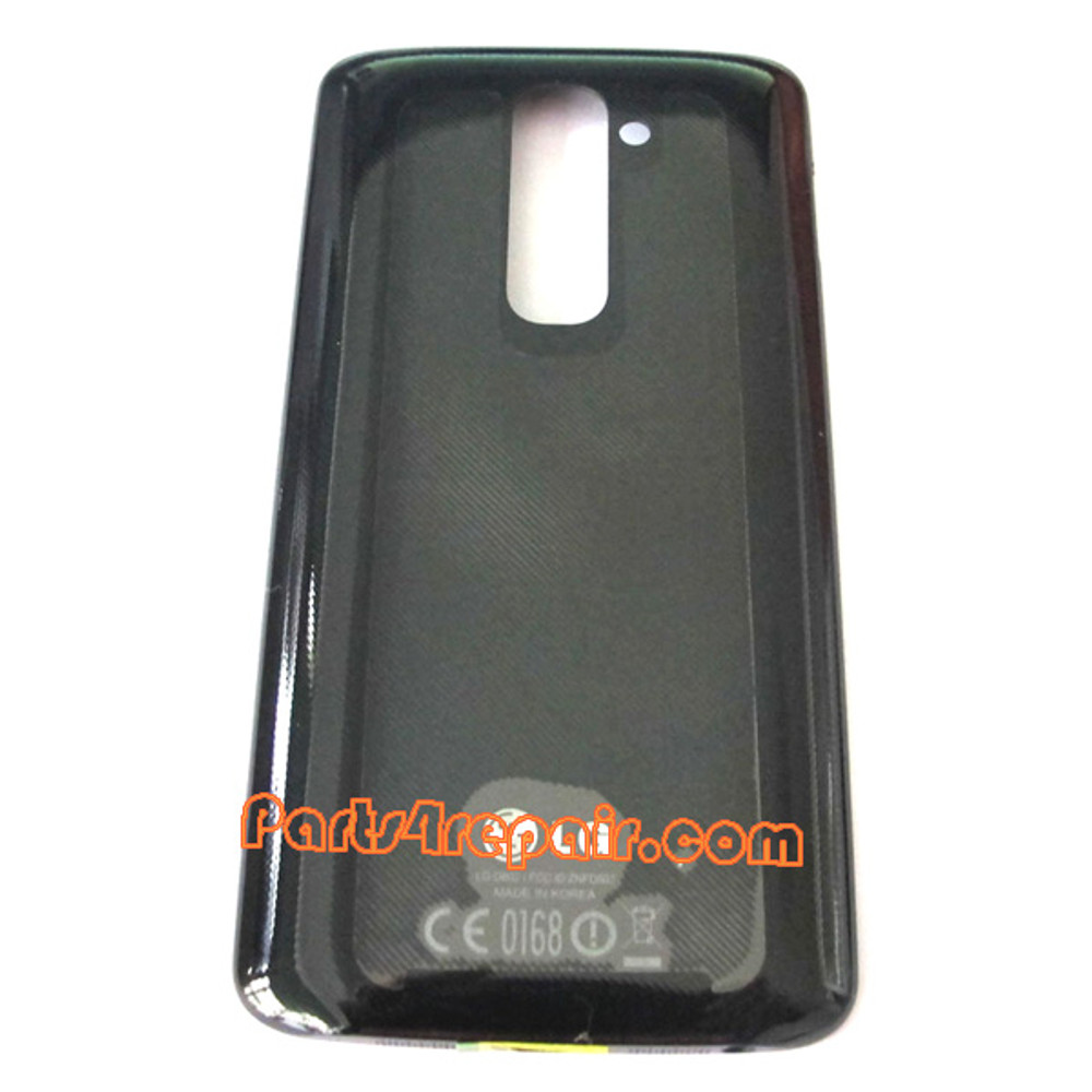 Back Cover with NFC for LG G2 D802 -Black from www.parts4repair.com