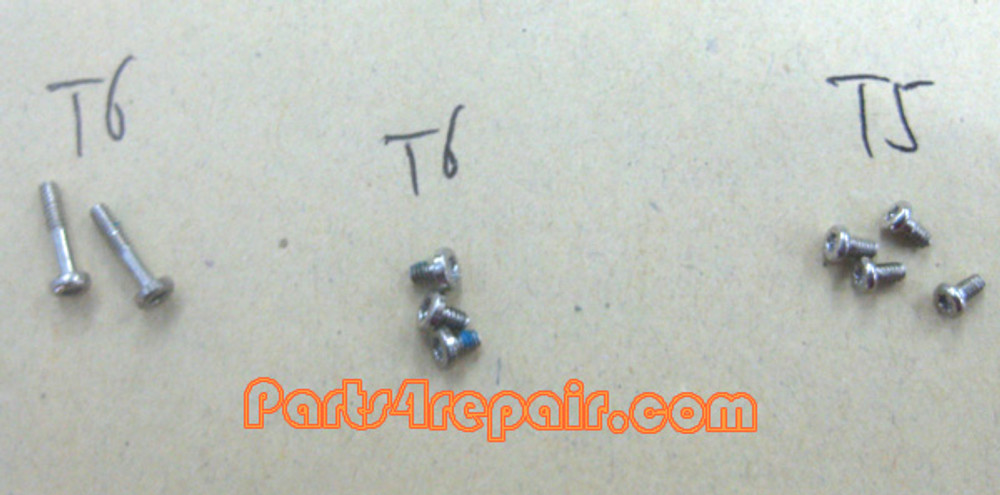 a full set of Screws OEM for Nokia 8800 Arte from www.parts4repair.com