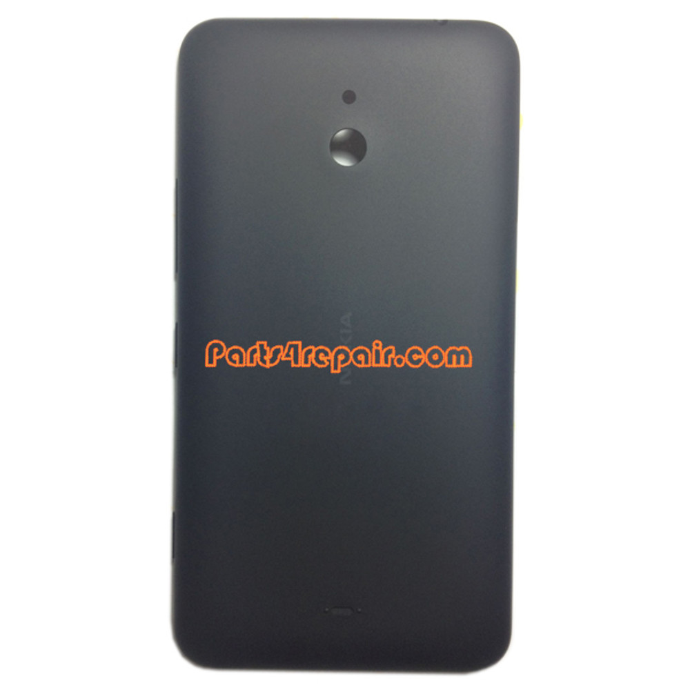 Back Cover for Nokia Lumia 1320 -Black from www.parts4repair.com