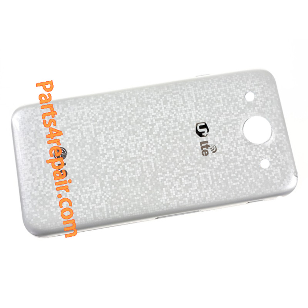 Back Cover for LG Optimus G Pro F240 -White from www.parts4repair.com