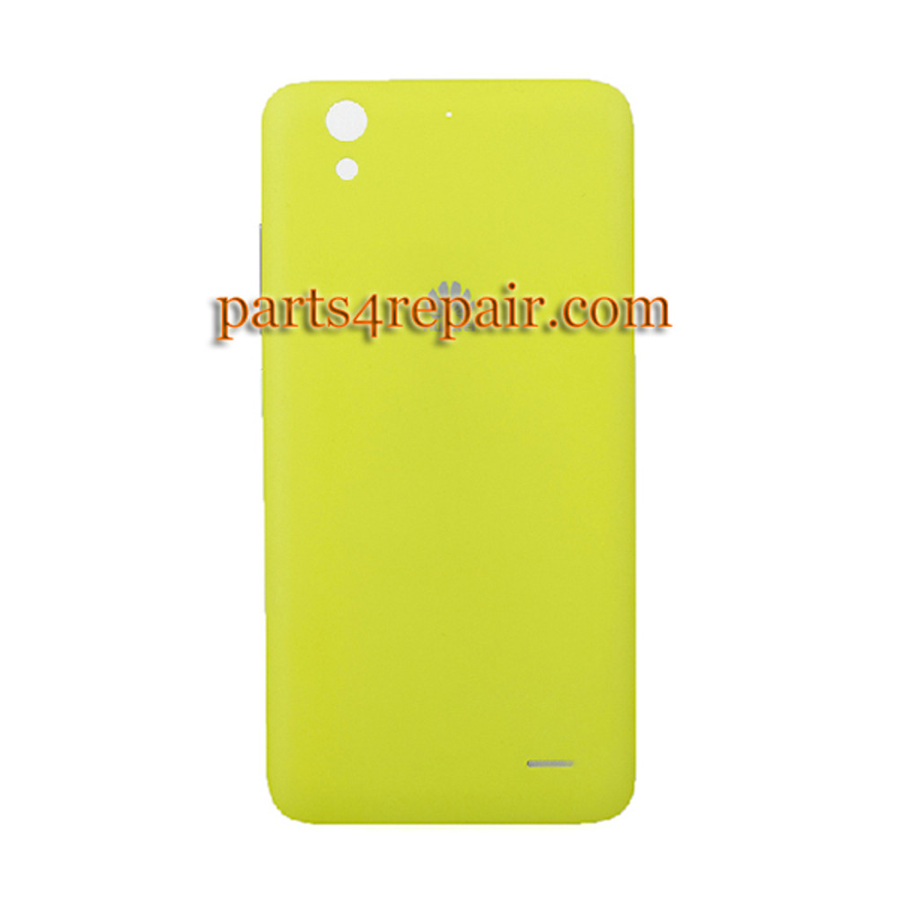 Back Cover with Side Keys for Huawei Ascend G630 -Yellow from www.parts4repair.com