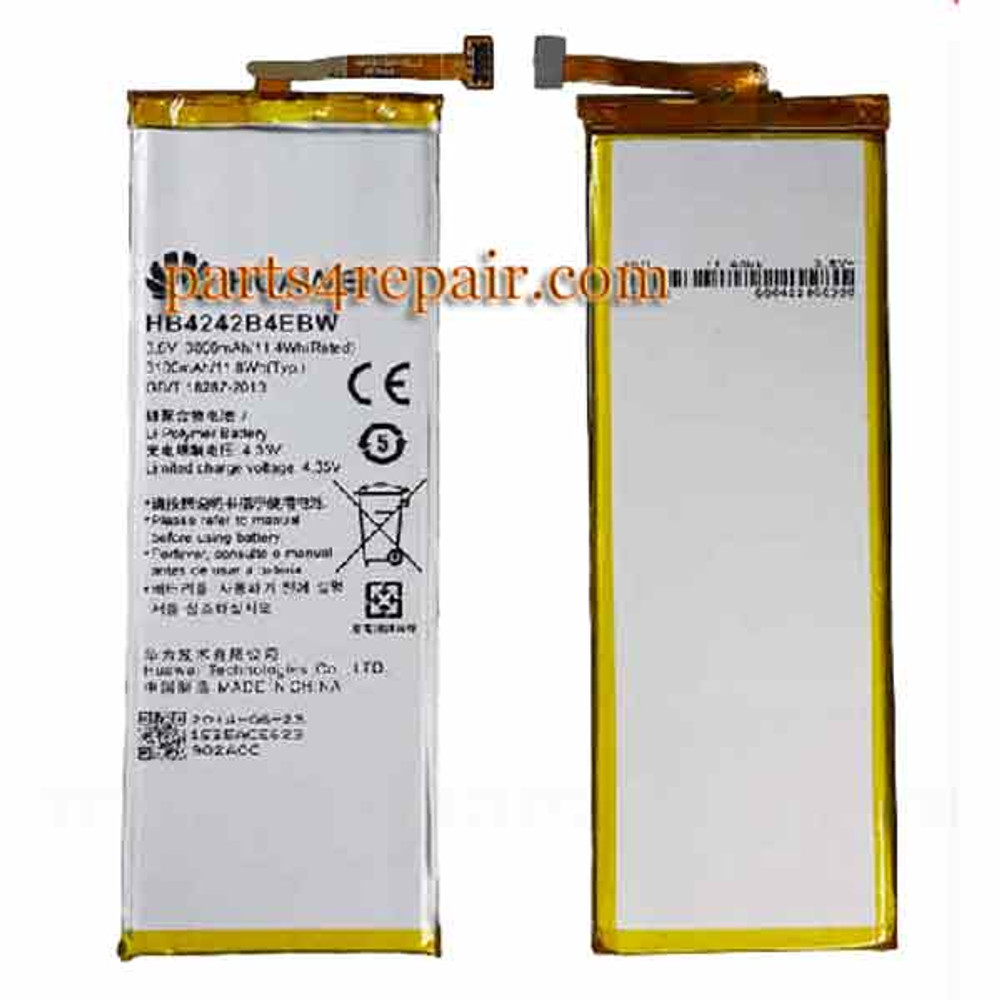 Built-in Battery for Huawei Honor 6 from www.parts4repair.com