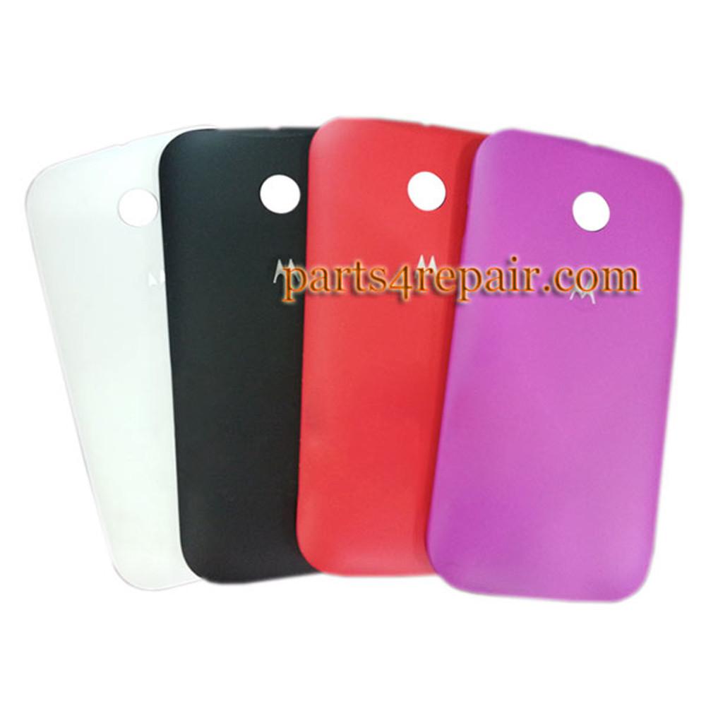 Back Cover for Motorola Moto E XT1021 -Black from www.parts4repair.com
