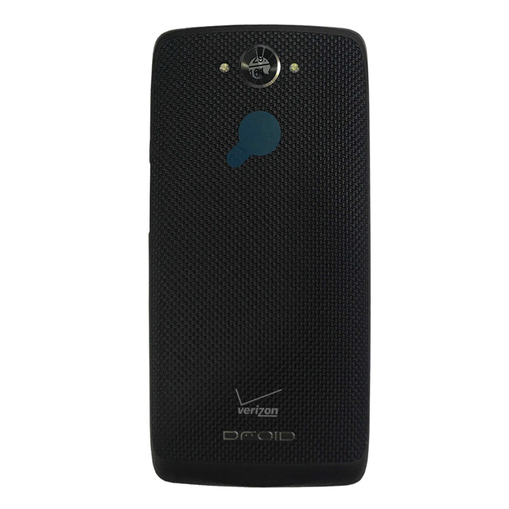 Back Cover for Motorola Droid Turbo XT1254 -Black